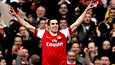 Robin van Persie piti Arsenalin mukana mestaruustaistelussa.