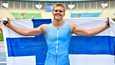 Juho Alasaari voitti hopeaa nuorten yleisurheilun MM-kisoissa Nairobissa.