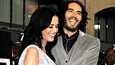 Katy Perry ja Russell Brand ovat olleet naimisissa lokakuusta asti.