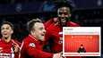 Oakley Cannonierin (pieni kuva) nopeat reaktiot pallopoikana toivat Liverpoolille voittomaalin Barcelonaa vastaan toukokuussa 2019.