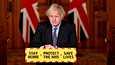 Boris Johnson esitteli maanantaina nelivaiheisen suunnitelman koronarajoitusten höllentämisestä Englannissa.