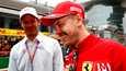 Alexander Wurz (vas.) ja Sebastian Vettel kuvattuna viime vuonna.