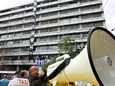 Mielenosoittajat valtasivat Kreikan valtiovarainministeriön lokakuussa.