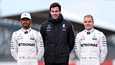 Lewis Hamilton, Toto Wolff ja Valtteri Bottas jatkavat todennäköisesti yhteistyötä ensi kaudellakin.