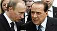 Vladimir Putinin ja Silvio Berlusconin läheiset välit epäilyttävät amerikkalaisdiplomaatteja.