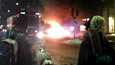 Itsemurhapommittaja räjäytti itsensä Tukholmassa lauantaina. Myös auto räjähti hetkeä aikaisemmin.