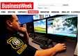 BusinessWeek näyttää kuinka poliisimies valvoo videokameran välityksellä kaupunkia.