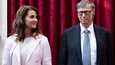 Melinda ja Bill Gates vuonna 2017.