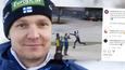 Petter Kukkonen otti ilon irti MM-mitalista.