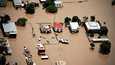 Pahiten kärsineeseen Rockhamptoniin on luvattu lisää sateita.