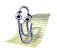 Microsoftin Office-ohjelmista tuttu Clippy ei voittanut käyttäjien suosiota puolelleen. Yhtiö luopui apurin käytöstä Office 2007 -paketin myötä.