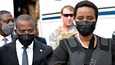 Martine Moise saapui Haitille virkaatekevän presidentin Claude Josephin vastaanottamana.