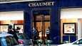 Ryöstetty jalokiviliike sijaitsee lähellä kuuluisaa Champs-Elysees-katua.