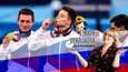 Kovasti Venäjältä näyttävä ROC sai Tokiossa miesten telinevoimistelun joukkuekisasta kultaa.