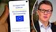 Koronapassin tulo Suomessa on viivästynyt, vaikka EU:n koronarokotustodistusta esiteltiin Helsingissä jo 22.6.2021.