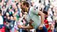 Harry Kane teki Tottenhamin tasoituksen Arsenalin verkkoon.