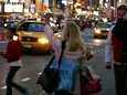 Times Squarella riittää yleisöä.