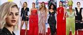 Selena Gomez räväytti platinablondina nahkaminimekossa – katso kuvat AMA-gaalan upeimmista ja oudoimmista puvuista
