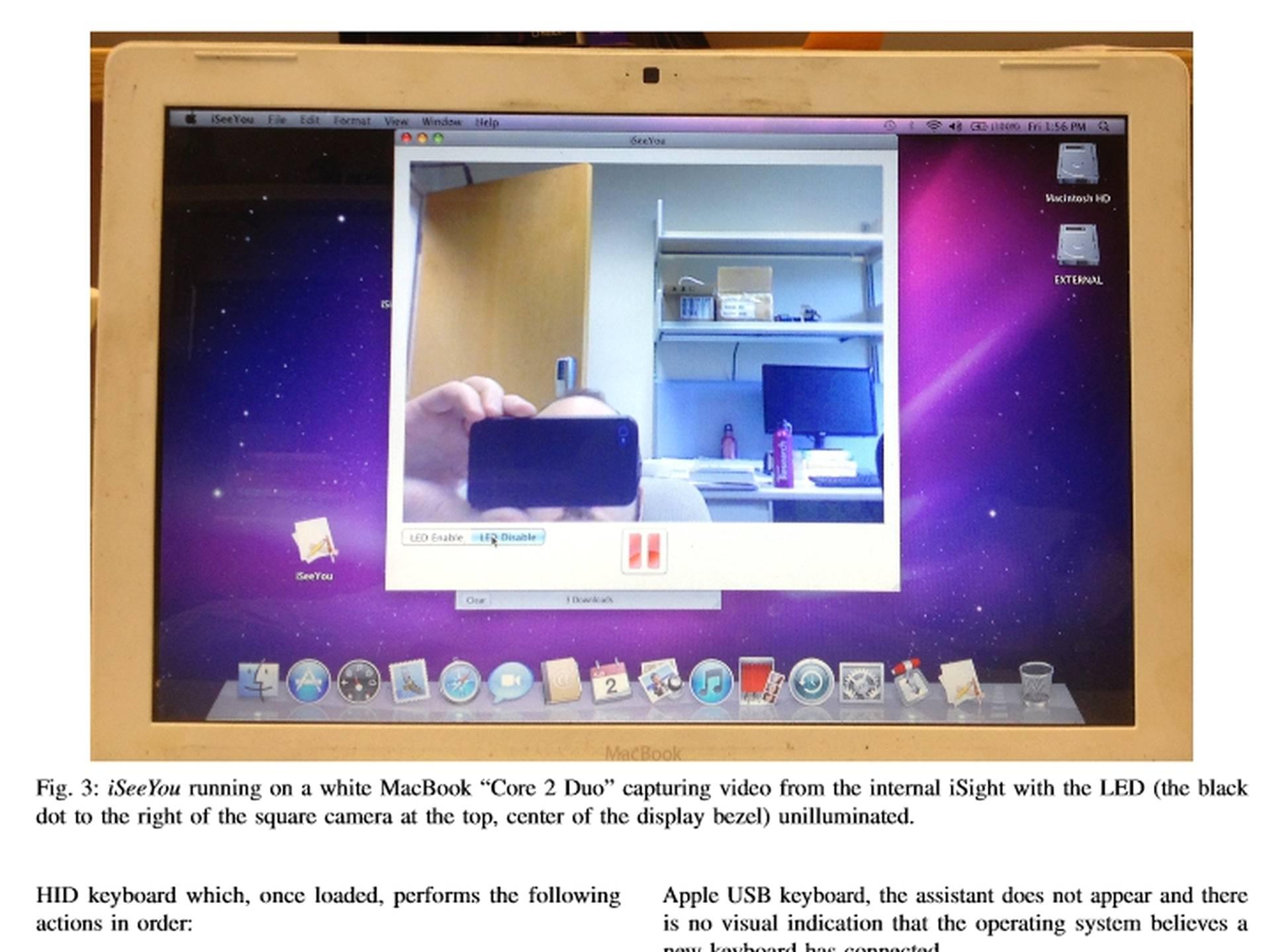 kytkeä video kameran Mac