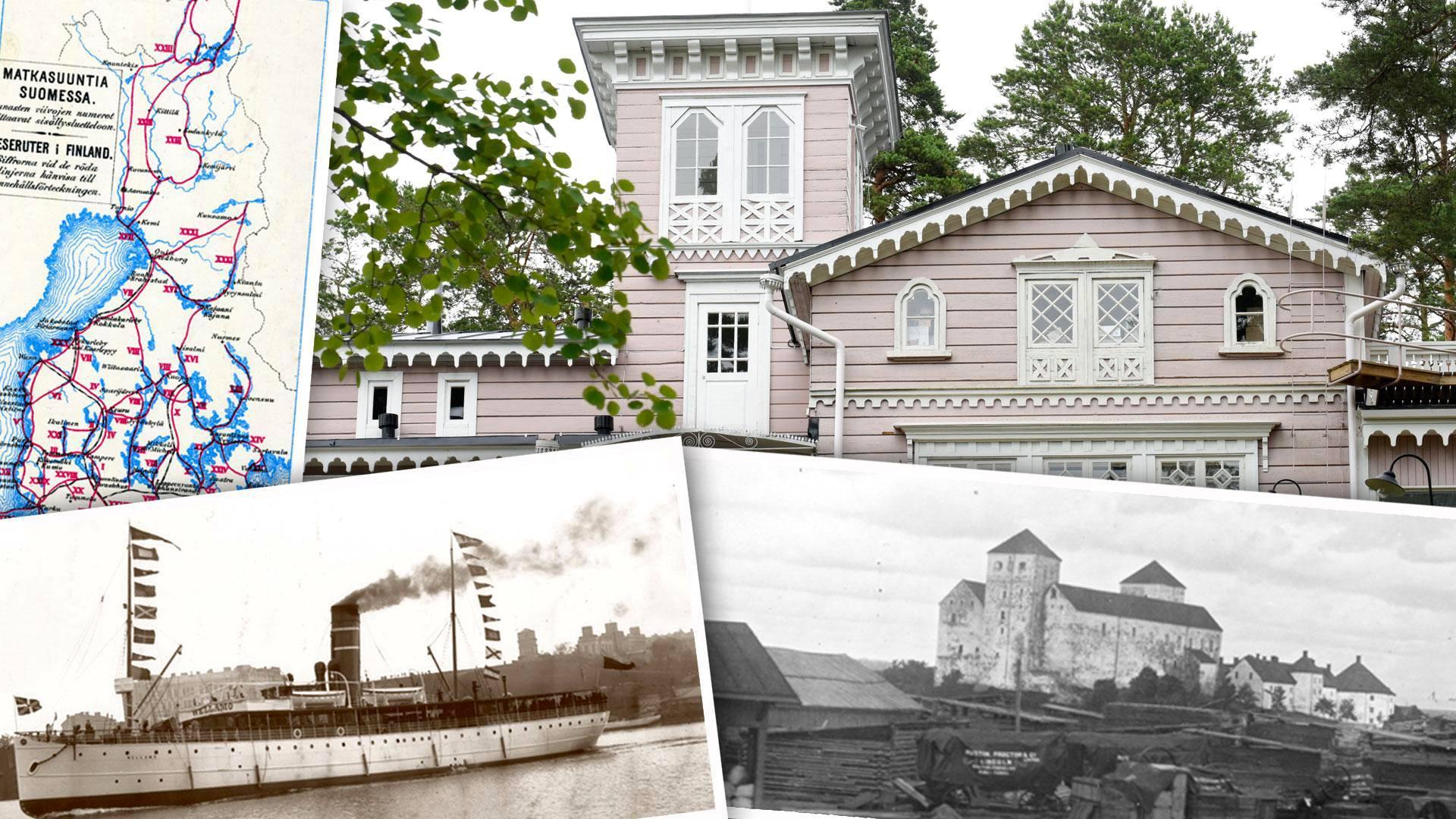 Itään ja länteen! 1800-luvun matkailuopas teki kotimaata suomalaisille tutuksi neuvomalla, missä pystyi matkailemaan matalalla budjetilla.