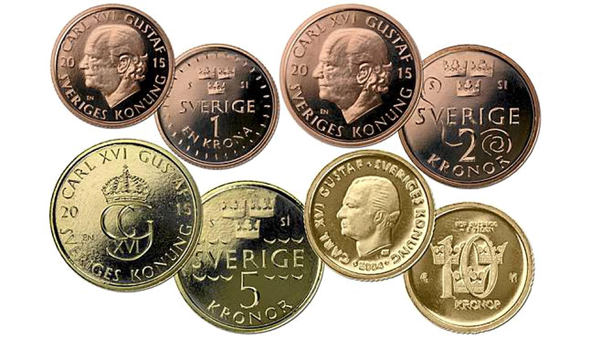 Ruotsin Kruunu Kolikot