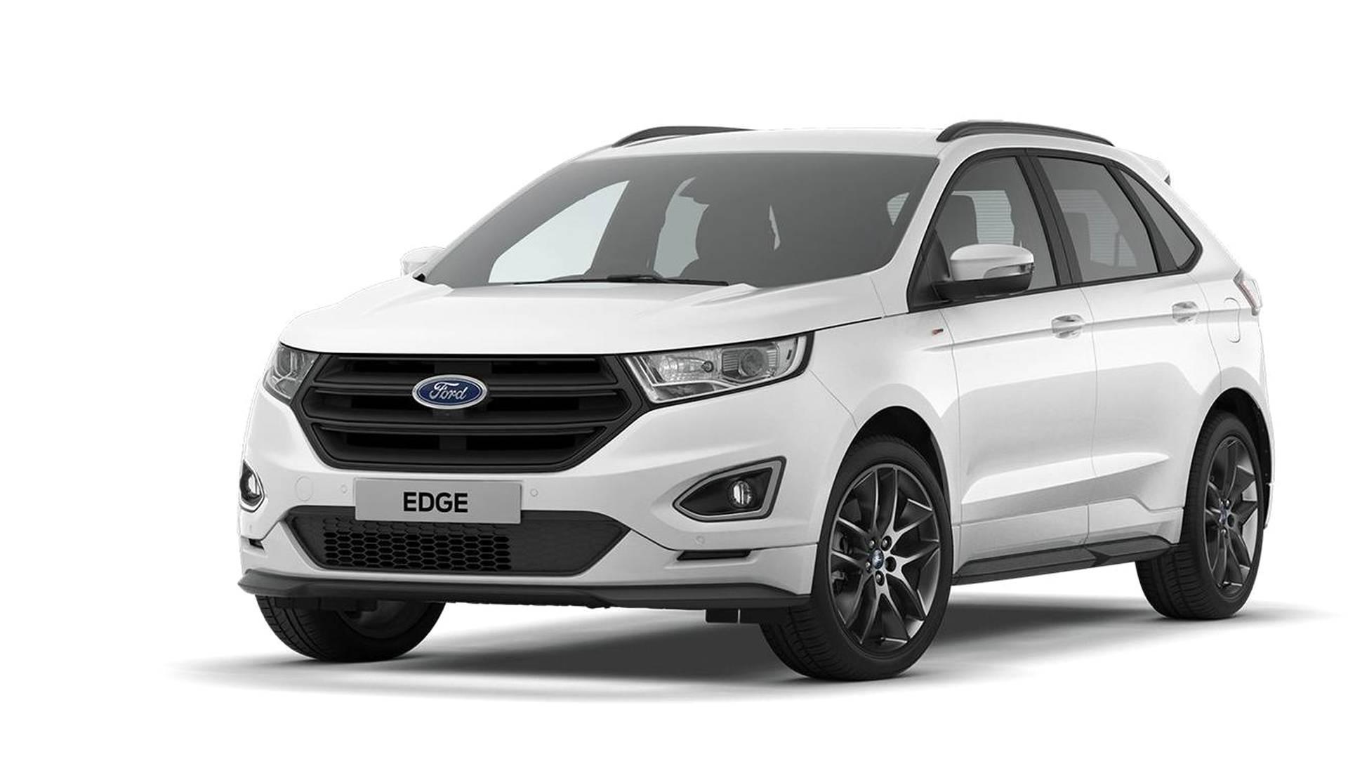 Ford Edge St Line >> Ford Laajensi Ison Katumaasturinsa Mallistoa Tehokas