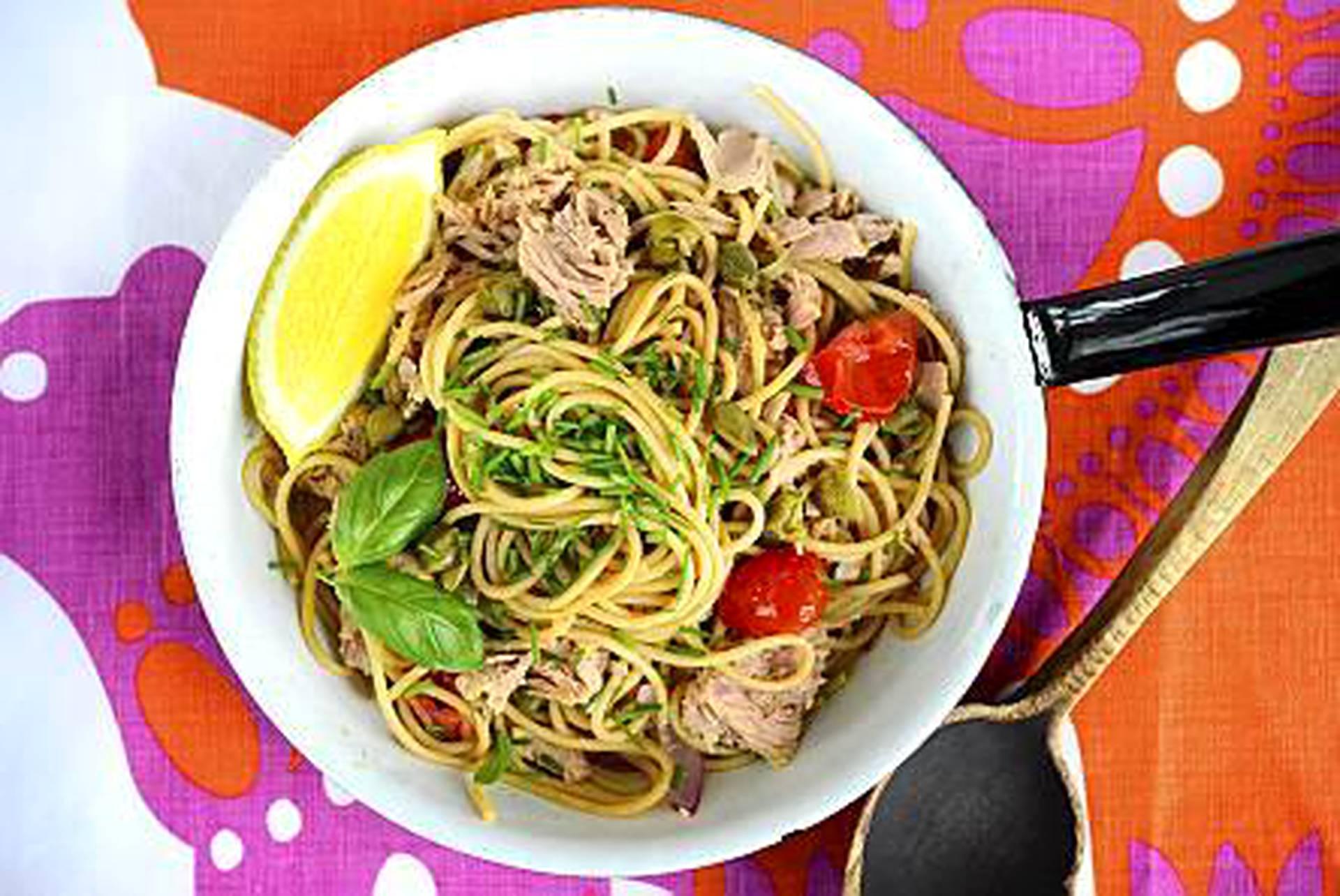 Tonnikalaspagetti