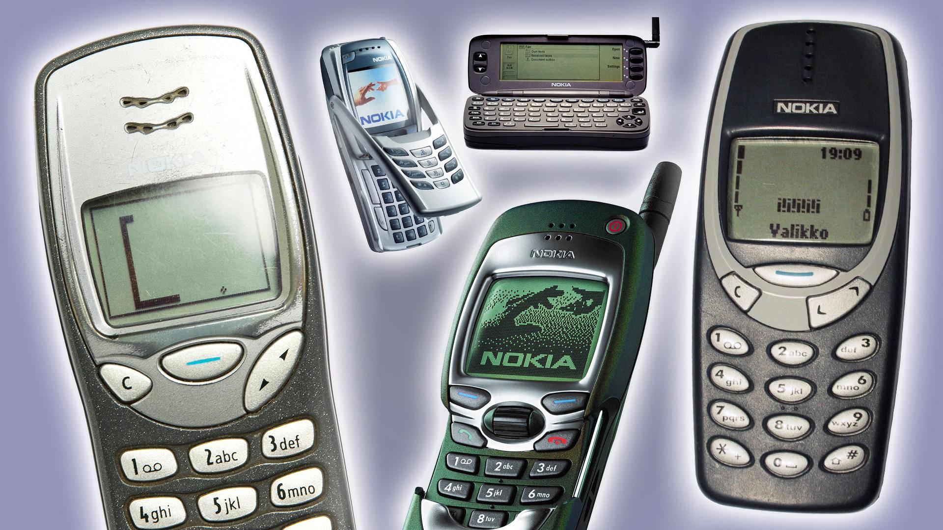 Vanhat Nokia Puhelimet