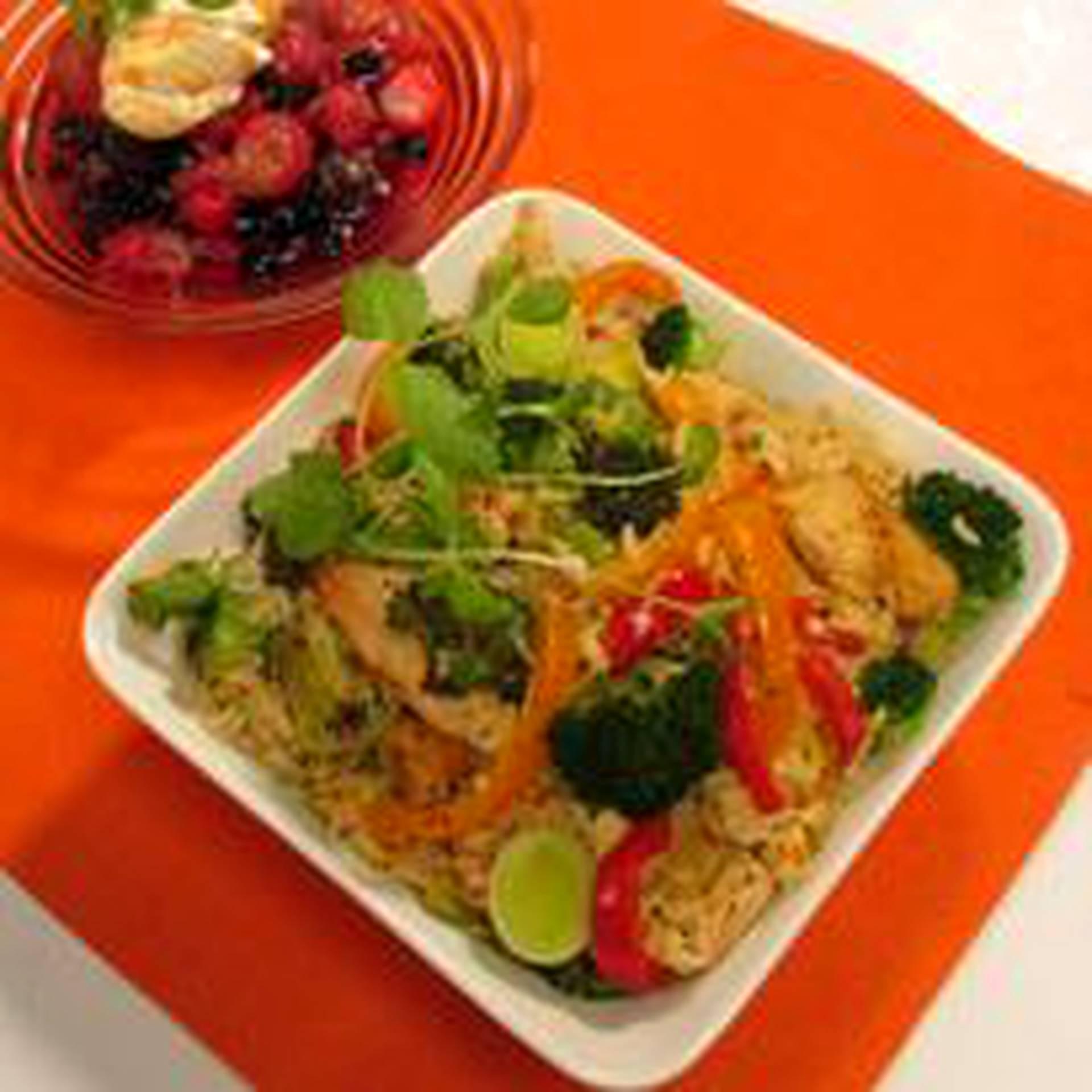 broileri riisivuoka uunissa