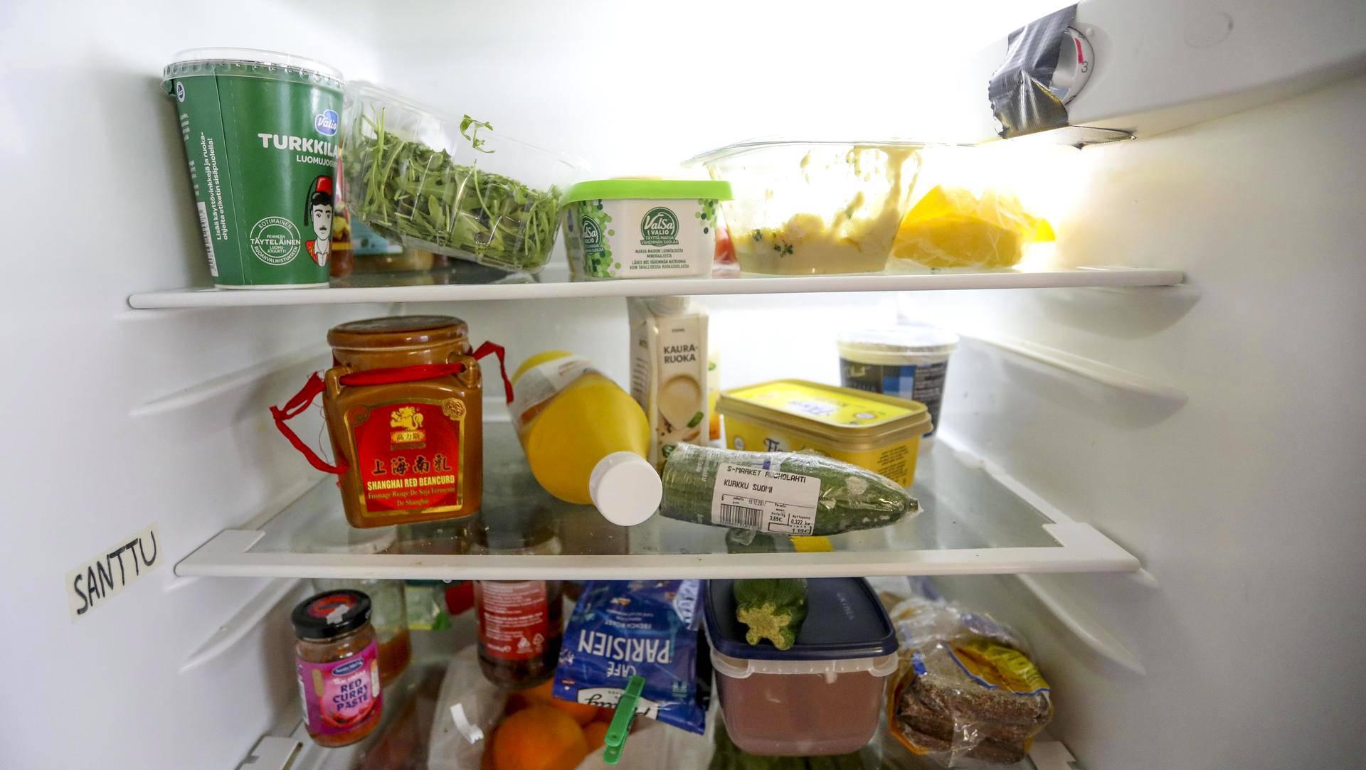 jääkaapin hajun poisto