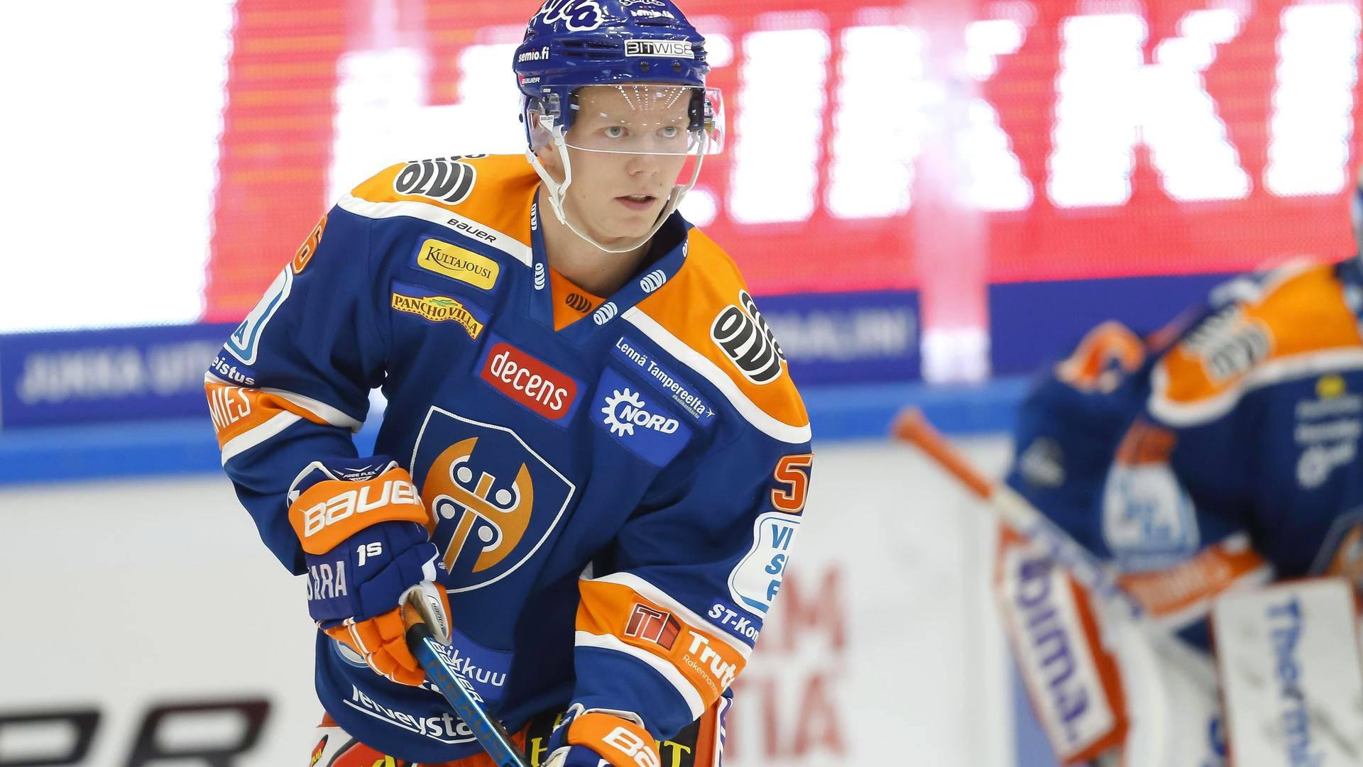 halvat hinnat uusi julkaisu kuuma myynti Tapparan KHL-hankinta harjoittelee ja pelaa eri SM ...
