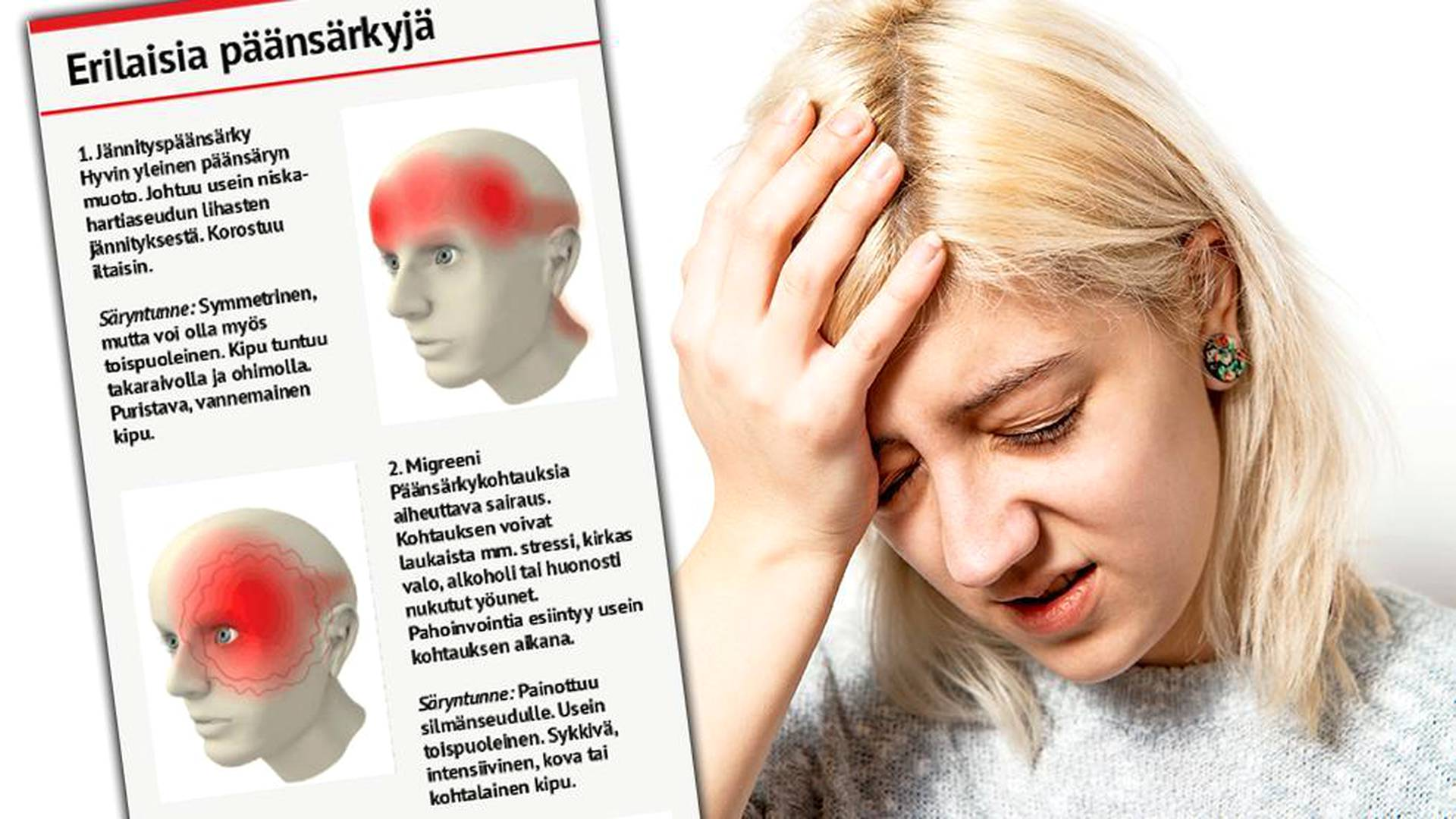 Punaviini Päänsärky