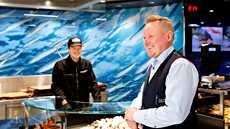 K-Citymarket Iso Omenan asiakkaille tärkeintä ovat laadukkaat raaka-aineet, kuten liha ja kala.