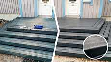 Terassi kannattaa huoltaa huhti-toukokuussa. Hyvin huolletun terassin pinta hylkii vettä ja kestää vaihtelevia säitä.