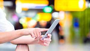 IPhonesta voi olla yllättävää apua lentokentällä