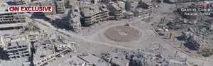 Tältä näyttää nyt paikka, jossa Isis mestasi ja ristiinnaulitsi ihmisiä