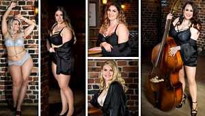 Miss Plus Size -finalistit sensuelleissa alusasukuvissa – Kuka kurvikkaista kaunottarista on suosikkisi?