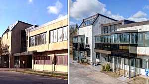 Ankea ja autioitunut Pohjan kunnantalo muuttui luksusrivariksi – uskoisitko edes samaksi rakennukseksi?
