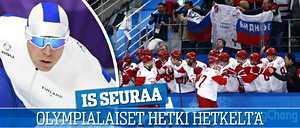 Juuri nyt: Koskela ja Poutala pikaluistelussa, venäläiset etenivät finaaliin jääkiekossa – IS seuraa olympiatapahtumia