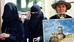 Pirkko pääsi suljettuun Saudi-Arabiaan – maan karuimmat puolet vetivät kokeneen matkailijan hiljaiseksi