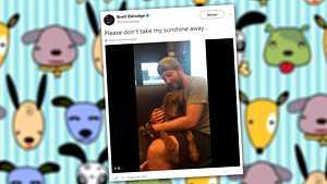 Isäntä laulaa koiralleen – ihana video