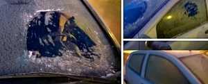 """Poliisi julkaisi paljon puhuvat kuvat: Tämä auto oli pakkasaamuna liikenteessä – """"Ajaminen on arpapeliä"""""""