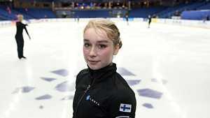 Suomen olympiapaikan varmistaneelle huippuluistelijalle pettymys – kotikisa jäi kesken