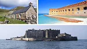 Kuvat: Nämä hylätyt saaret ovat joskus olleet täynnä elämää, nyt ne raunioituvat hiljalleen