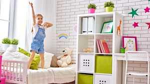 9 edullista tapaa piristää lastenhuonetta