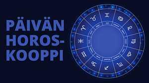 Horoskooppi 19.10.2017