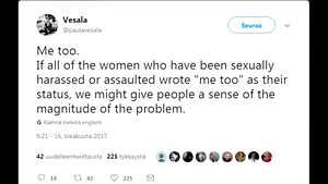 Markkinointipäällikkö jahtasi ympäri työhuonetta rintoja kehuen – somessa leviävä #metoo sai tavalliset suomalaiset avautumaan seksuaalisesta häirinnästä