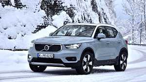 Volvon uutuus XC40 kävi lumella ja jäällä: Vakuuttavaa menoa ja hittipotentiaalia!