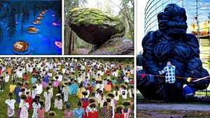 Kummallisiin kohteisiin keskittyvä matkailusivusto listasi 33 tärppiä Suomesta – tunnetko nämä nähtävyydet?