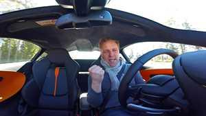 IS ajoi McLarenilla Pirkanmaalla – täysin katukelpoinen, selviää hidastetöyssyistäkin